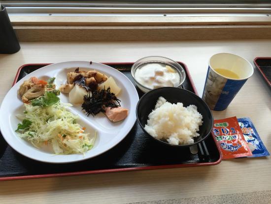 Super Hotel Nagoya-ekimae: SUPER的美味早餐