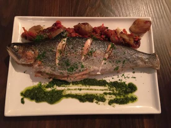 Bistro Felix: Roasted Rainbow Trout