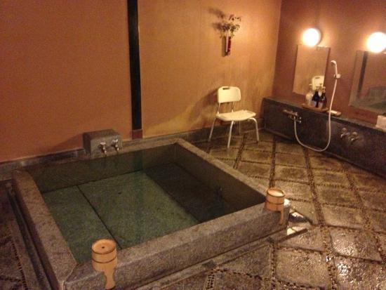 Matsudaya Hotel : 4人でも広すぎる家族風呂(維新の湯)