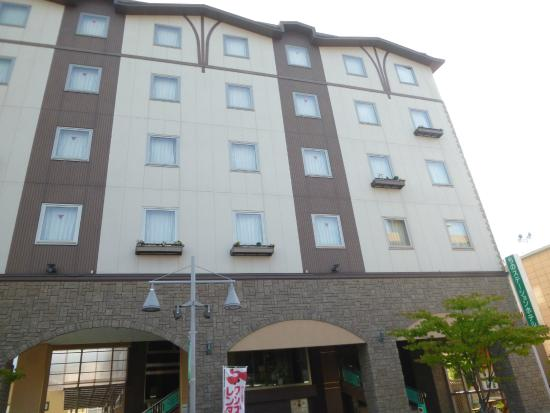 Chino Station Hotel : 正面外観
