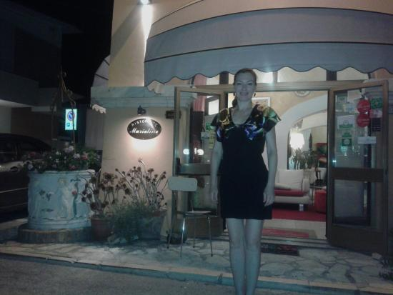 Marcelli di Numana, Italie : Compleanno Tati