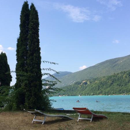 Aiguebelette-le-Lac, Γαλλία: Au bord du lac