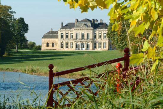 Arceau, France : Vue du parc