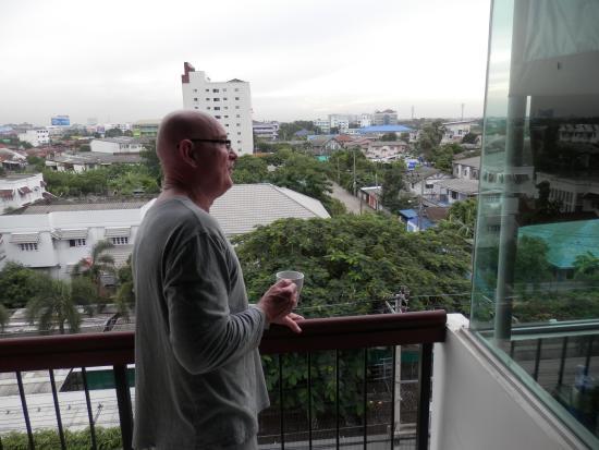 Siam Piman Hotel: Balcony