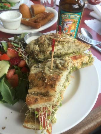 Rollerville Cafe: Great Sandwich!