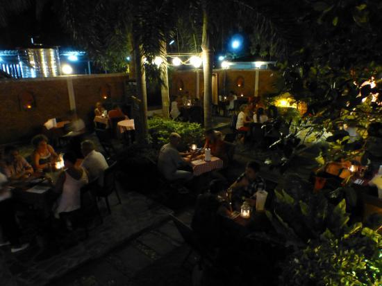 The Frog Wine Cellar & Restaurant: The Garden Restaurant