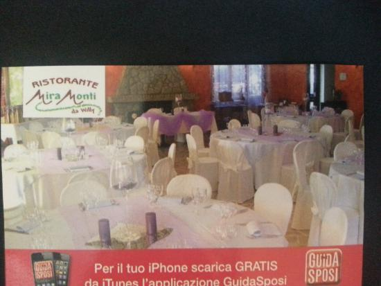 Rubiana, İtalya: bigliettini