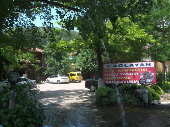 Cetibeli Caglayan Restaurant: entrance