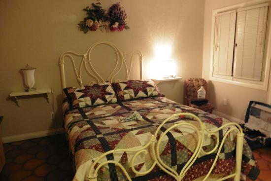 La cama, muy chula