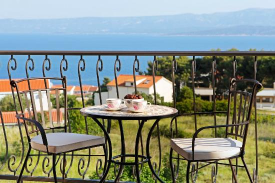 Adria Apartments : View from VIlla Nera
