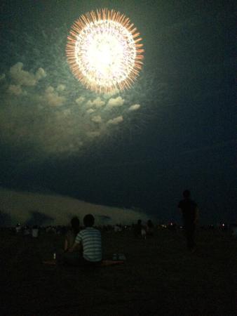 Oarai Sea Fireworks