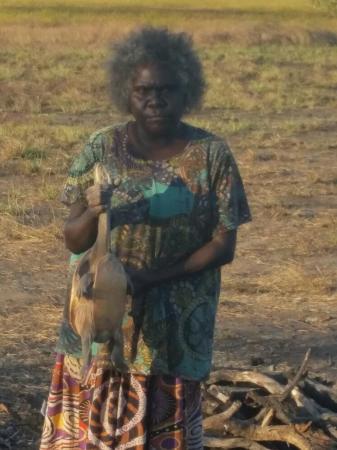 Animal Tracks Safari: Preparing dinner!