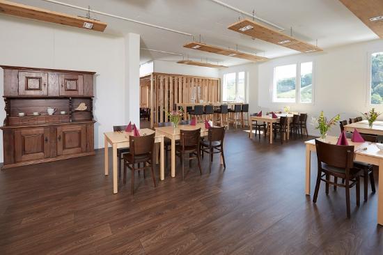 Willisau, Schweiz: Frühstücksraum