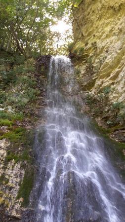 Castelsantangelo sul Nera, Włochy: Panorama delle cascate