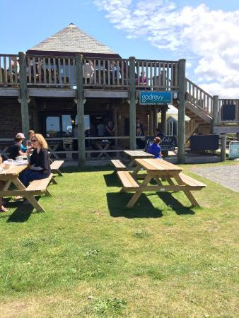 Godrevy Cafe: Great spot for lunch