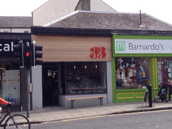 Cafe Near Murrayfield