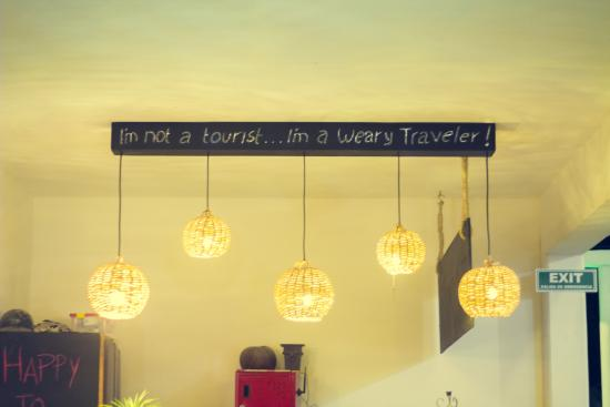 Weary Traveler Hostel: reception