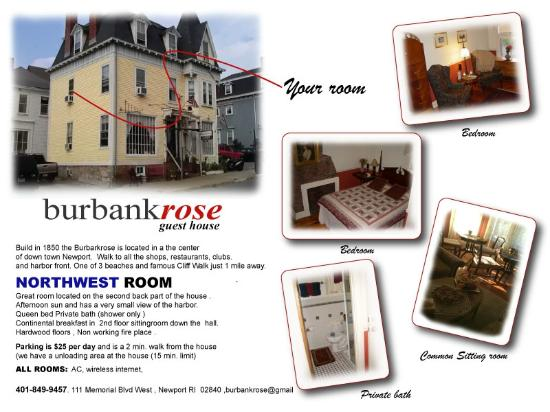 Burbankrose: Northwest room