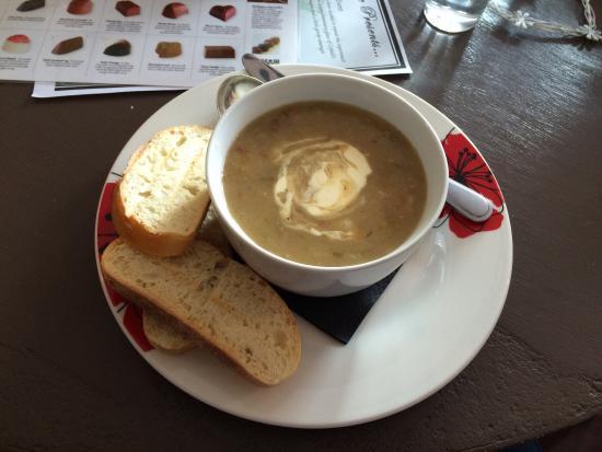 Renaissance Chocolates: Potato and Leek soup