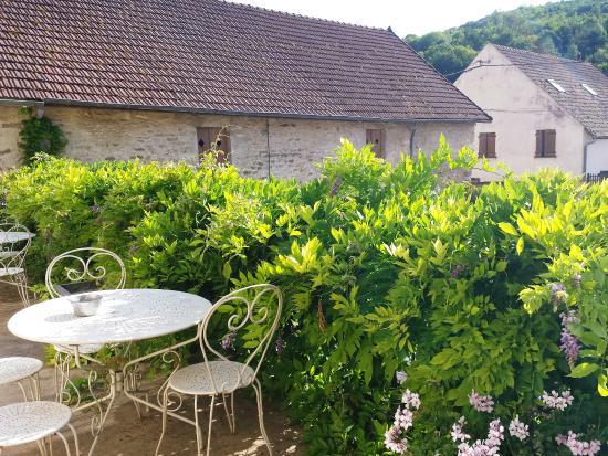Domaine de la Corgette : La terrasse