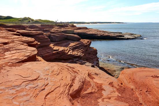 Cavendish Beach: Red cliffs and beach of Cavendish, PEI