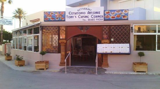 Tony's Cuisine Corner