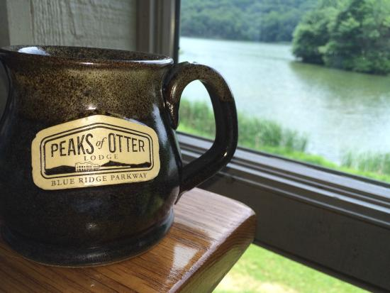Peaks of Otter Lodge: dining room view
