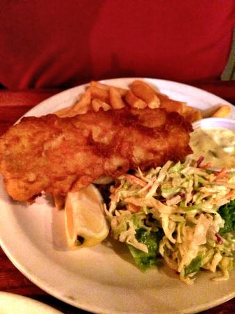 Durty Nelly's Irish Pub & Restaurant: fish and chips