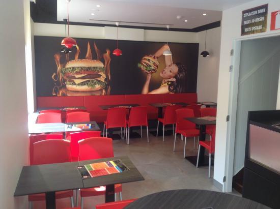 Ypres Burger: Verbruikzaal