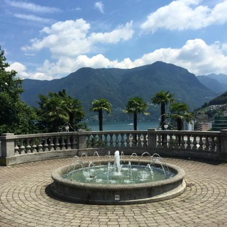 Lugano, Switzerland: La fontana