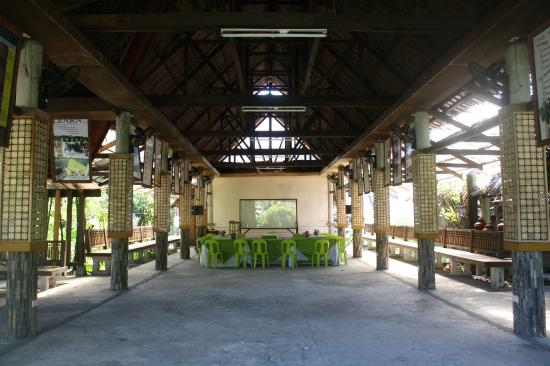 Penalosa Farms: The hall where seminars are held.