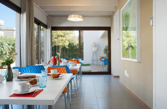 Brekfast area - Picture of Hotel Villa Sveva f6e7b3b6d7f