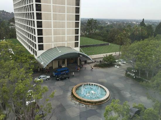Sheraton Universal Hotel Hotel entrace Hotel entrace