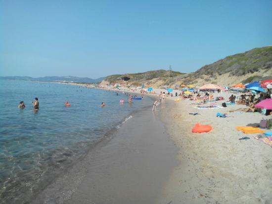 Valledoria, Italie: Spiaggia La Ciaccia