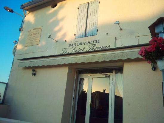 Brasserie Saint Thomas: voorgevel