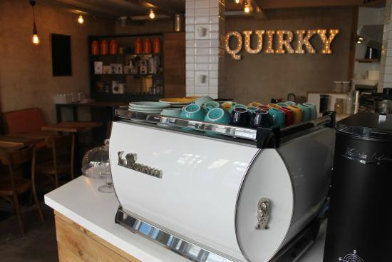 Quirky coffee shop