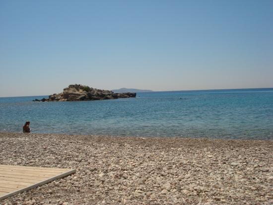 Hotel Lena Mary: plage privée