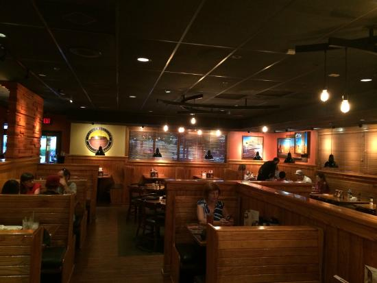 Interior bar area picture of outback steakhouse frisco