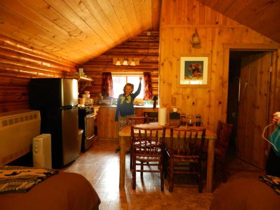 Inside Cabin Picture Of Silver Gate Cabins Silver Gate