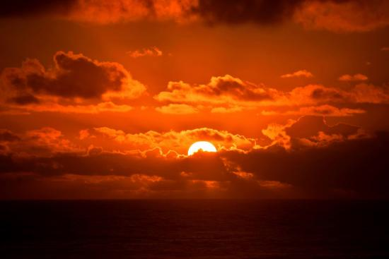 Sea Haven Motel: Stunning Sunset from nearby Rockaway Beach