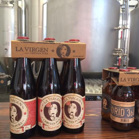 La Virgen brewery worth the trip out to Las Rozas