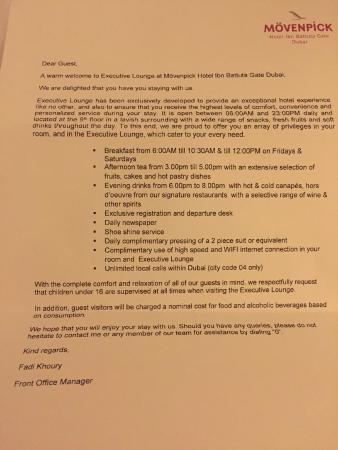 Marriott Offer Letter
