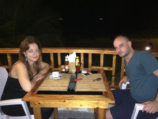 Arora Inn: La terrasse