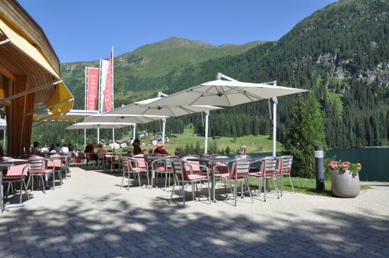 Hotel Seebüel: an einem sonnigen Nachmittag