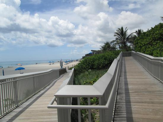 Oceanfront Park Beach Boardwalk Path To The