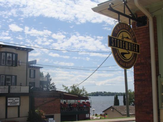 Gananoque, Kanada: Location, location, location!!!! :)