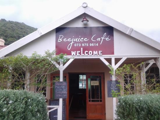 Beejuice Cafe : Entrance