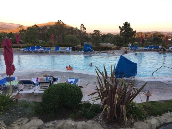Pool At Dusk Picture Of Madonna Inn San Luis Obispo Tripadvisor