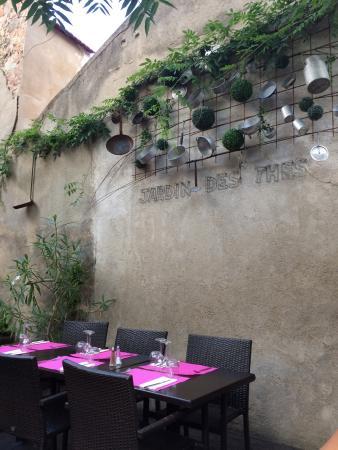 Le Jardin des Thes: Terrasse interieur