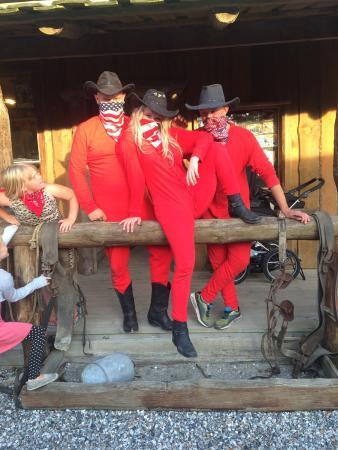 """Western Camp: """"Jul"""" d. 24. JULi og banditterne."""